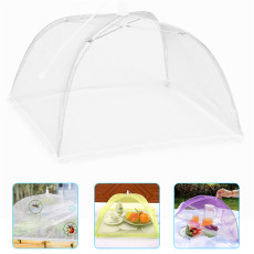 Household Food Cover Collapsible Anti Mosquito Fly Resistant Umbrella Screen Tent