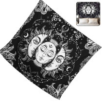 Tarot Sun Moon Mandala Tapestry Wall Hanging Tapestry Blanket Home Decor