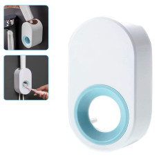 Wall Mount Automatic Toothpaste Dispenser Squeezer With Toothbrush Holder
