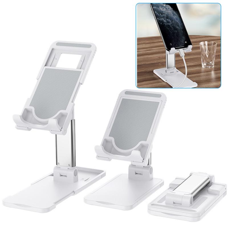 Universal Foldable Phone Holder Adjustable Desktop Metal Stand Tablet Support