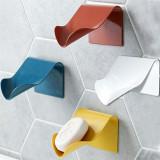 5 Pcs Hanging Soap Dish Rack Bathroom Shower Sponge Soap Holder Tray Organizer