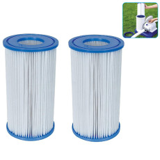 Type A B Swimming Pool Filter Pump Replacement Pump Filter Cartridge Cleaning Accessories