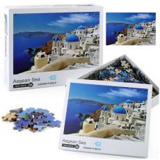 1000 Pieces Aegean Sea Jigsaw Puzzle Landscape Puzzles Educational Toys for Kids