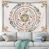 Mandala Tapestry Bohemian Decor Floral Wall Hanging Decoration Home Ornament