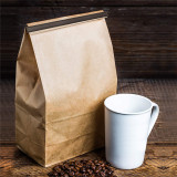 100Pcs Coffee Bag Sealing Tie Peel and Stick Tin Ties Sealing Strip Food Storage Tool