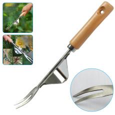 Mamusk 31.5cm Stainless Steel Gardening Weeding Tool Weeder