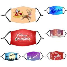 Christmas Ornaments Mask Decorations Santa New Year 2021