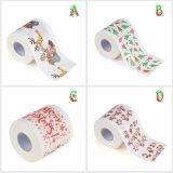 Home Tool Santa Claus Bath Toilet Roll Paper Christmas Supplies Xmas Decor Tissue Cute Christmas Print High quality Navidad
