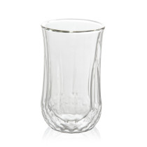 Heat Resistant Double Wall Glass Cup Whiskey Glass Beer Coffee Cup Shot Wine Glass  Creative Beer Coffee Mug Tea Glass Drinkware