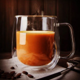 250ml Heat-resistant Double Wall Glass Cup Beer Coffee Cup Handmade Creative Beer Mug Tea Cup Whiskey Glass Cups Drinkware
