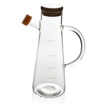 Lead-free glass oil pot leak-proof glass soy sauce bottle vinegar bottle kitchen supplies creative large-capacity vinegar bottle