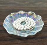 5-Inch Rainbow Glass Dinner Plate