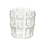 17 oz Oak Barrel Glass Cup, Great for Restaurants, Bars, Parties,500ml