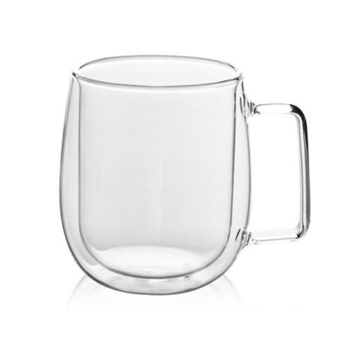 250mL Double Wall Glass Mug Office Mugs Heat Insulation Double Coffee Mug Coffee Glass Cup Drinkware Milk