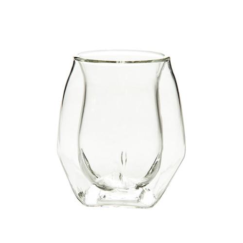 120ml Heat Resistant Double Wall Glass Cup Whiskey Glass Beer Coffee Cup Shot Wine Glass  Creative Beer Coffee Mug Tea Glass Drinkware