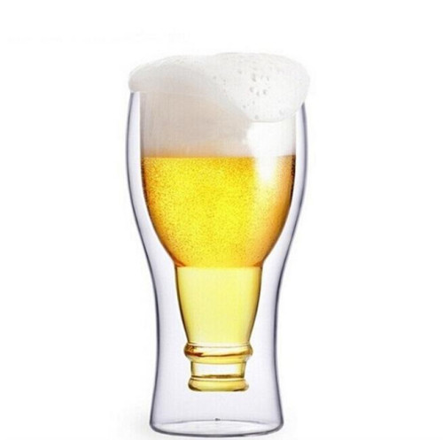 330ml Double Wall Beer Glass