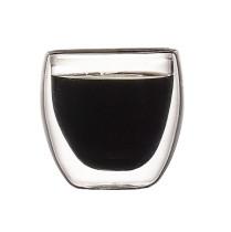 150ml Heat Resistant Double Wall Glass Cup Whiskey Glass Beer Coffee Cup Shot Wine Glass  Creative Beer Coffee Mug Tea Glass Drinkware