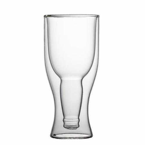 350ml Double Wall Beer Glass