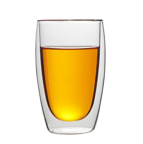 450ml Heat Resistant Double Wall Glass Cup Whiskey Glass Beer Coffee Cup Shot Wine Glass  Creative Beer Coffee Mug Tea Glass Drinkware