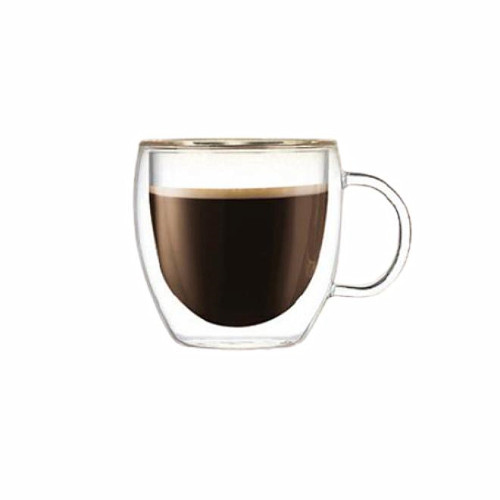 150ml Heat Resistant Double Wall Glass Cup Whiskey Glass Beer Coffee Cup Shot Wine Glass  Creative Beer Coffee Mug Tea Glass Drinkware