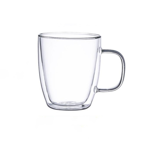 200ml Heat Resistant Double Wall Glass Cup Whiskey Glass Beer Coffee Cup(2pcs)