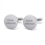 Personalized Latitude Longitude Cufflinks Make My Own Cufflinks Gift for Men