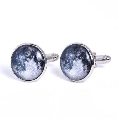 Moon Surface Cufflinks