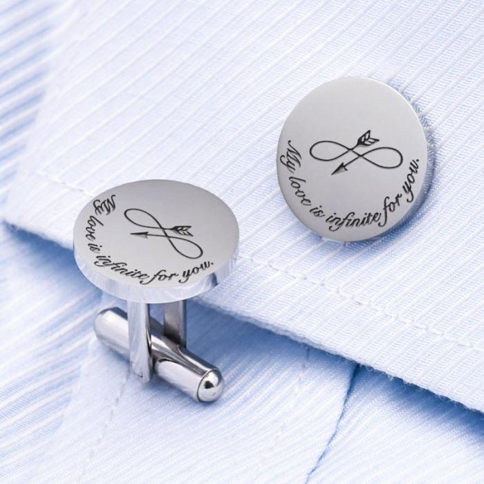 Infinity Love Cufflinks