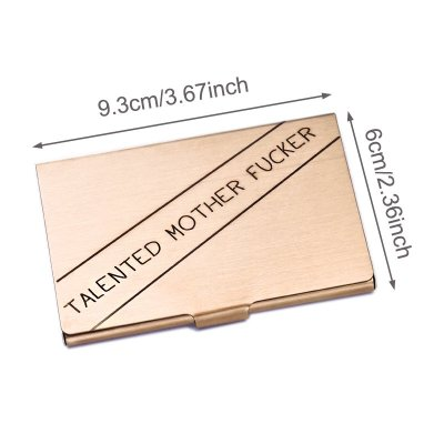Talented Mother Fucker Card Case