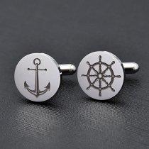 Anchor & Helm Cufflinks