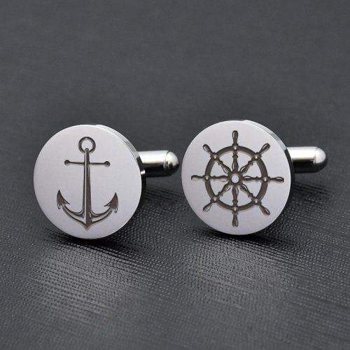 Anchor & Helm Cufflinks
