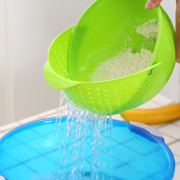 Free Shipping Rinse Bowl & Strainer