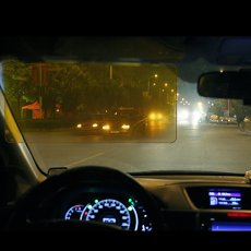 2 in 1 Anti-dazzle Car Visor