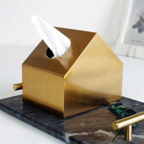 Golden Napkin Paper House