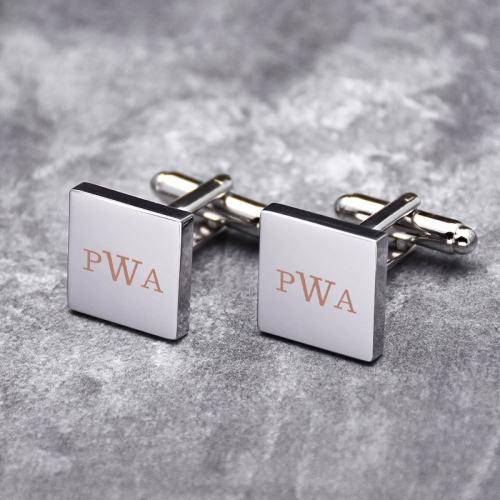 Personalized Letters Cufflinks