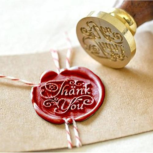 Floral Thank You Wax Seal Kit