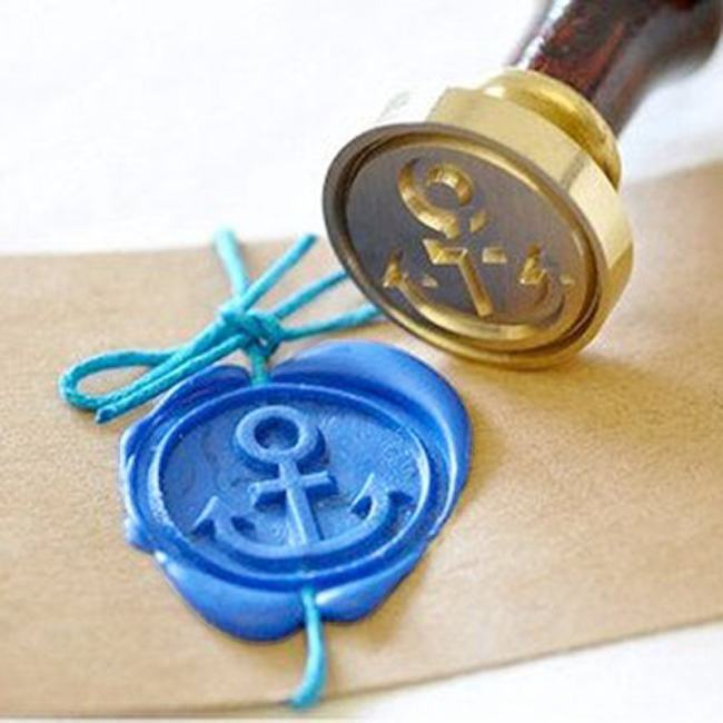 Anchor Wax Seal Stamp Kit Sealing Stamp UK Personalized Gifts