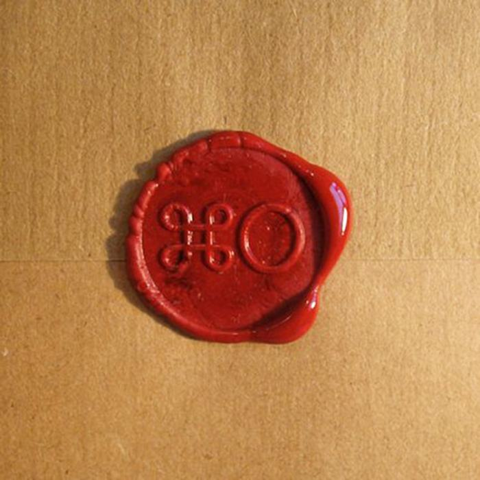 XO Sealing Stamp Open Wax Seal Stamp Kit by VEASOON
