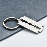 Anything Can Be Happen With A Razor Keychain