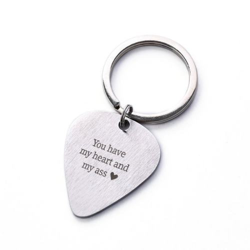 You Have My Heart And My Ass Keychain