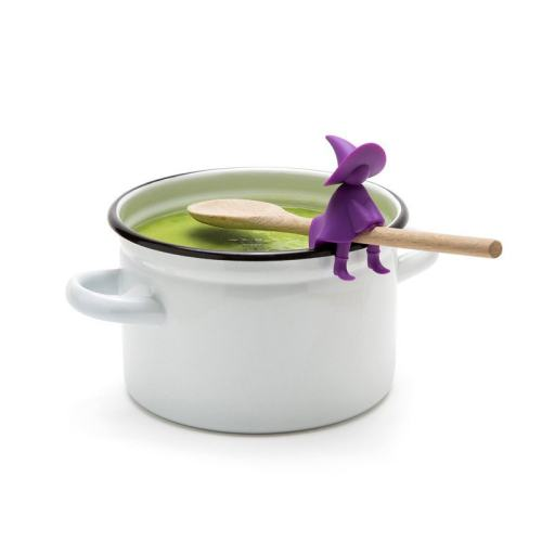 Witch Spoon Holder And Steam Releaser