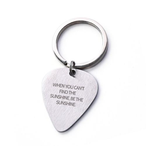 When You Can't Find The Sunshine Be The Sunshine Keychain