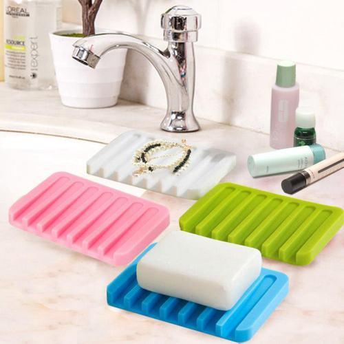 Corrugated Silicone Soap Holder