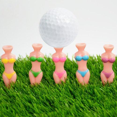 Bikini Beauty Golf Tees