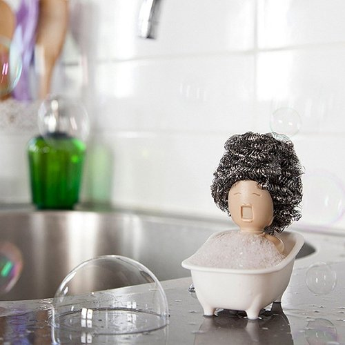 Soap Opera Dish Scrubber Holder