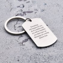 Everything Will Happen For You Keychain