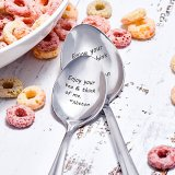 Enjoy Your Tea & Think Of Me Spoon