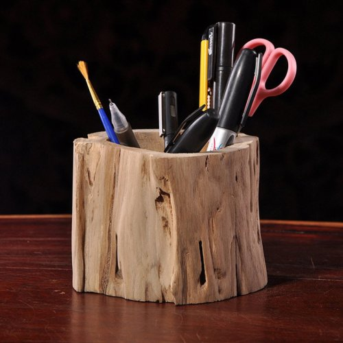 Tree Stool Pen Container
