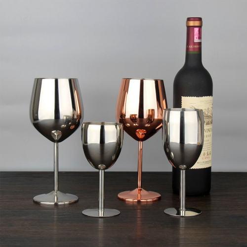 Stainless Steel Wine Glass Goblet Unbreakable Glasses Best Gift Idea