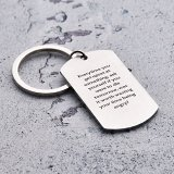 Everytime You Get Upset Keychain
